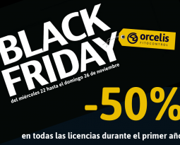 50% de descuento en todas nuestras licencias en el Black Friday de Orcelis