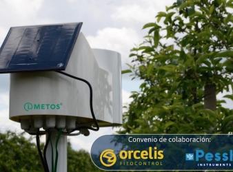Orcelis Fitocontrol llega a un acuerdo con Pessl Instruments para impulsar la agricultura de precisión en España.